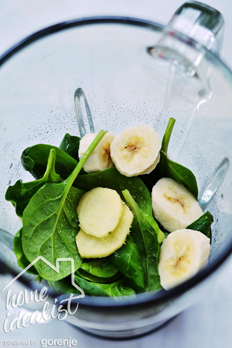 Spinach_banana_ginger_water