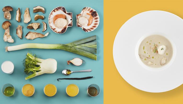 Gribniy krem-sup Iz borovikIv I morskih grebIntsIv