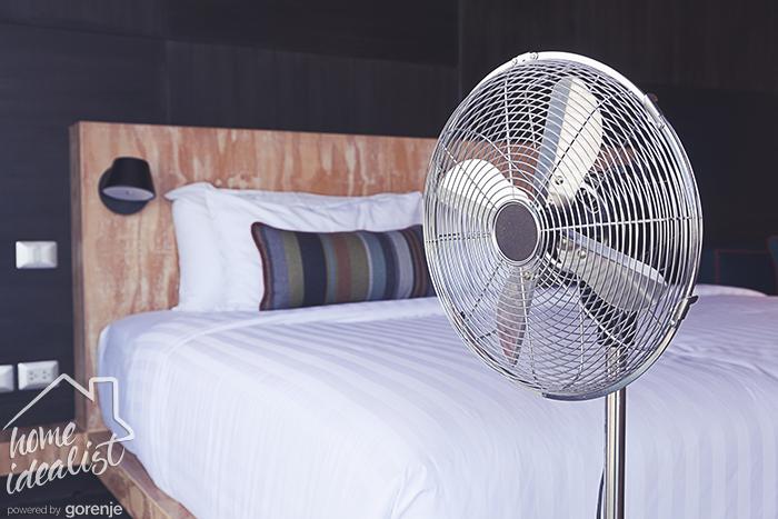 ventilyator v spalne
