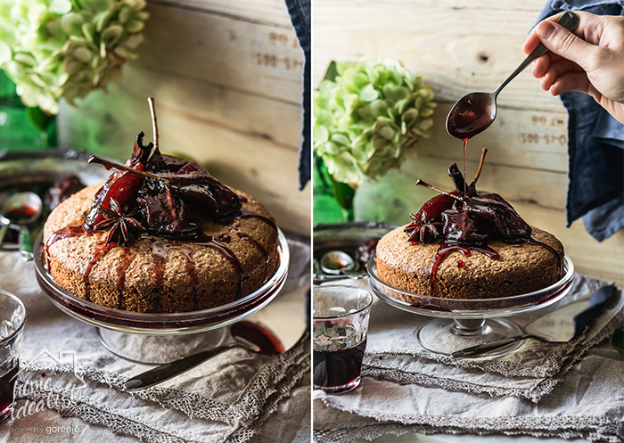 walnut_poached_pear_cake